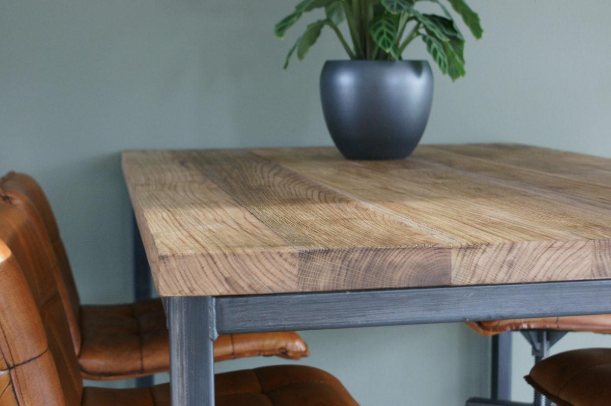 Wood and metal design