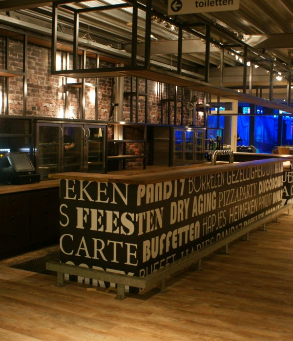 Horeca bar renovatie Assen